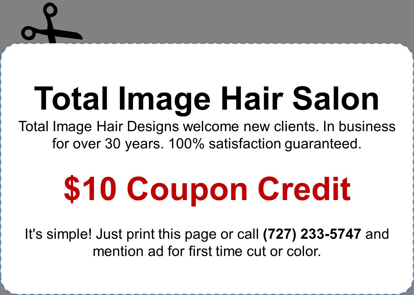$10 Coupon Credit
